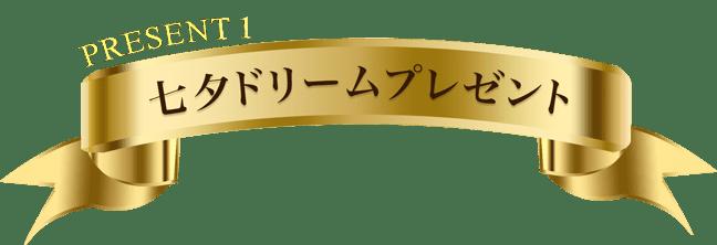 PRESENT1 七夕ドリームプレゼント